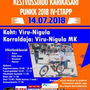 Viru-Nigula Punnvõrr PunKK 2018 fas IV, 14. Juli 2018